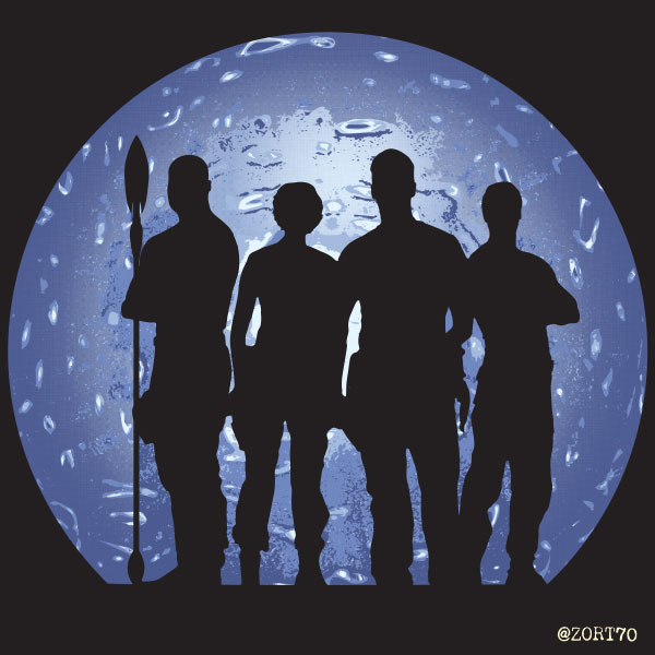 Stargate SG1 Ready for Action t-shirt design
