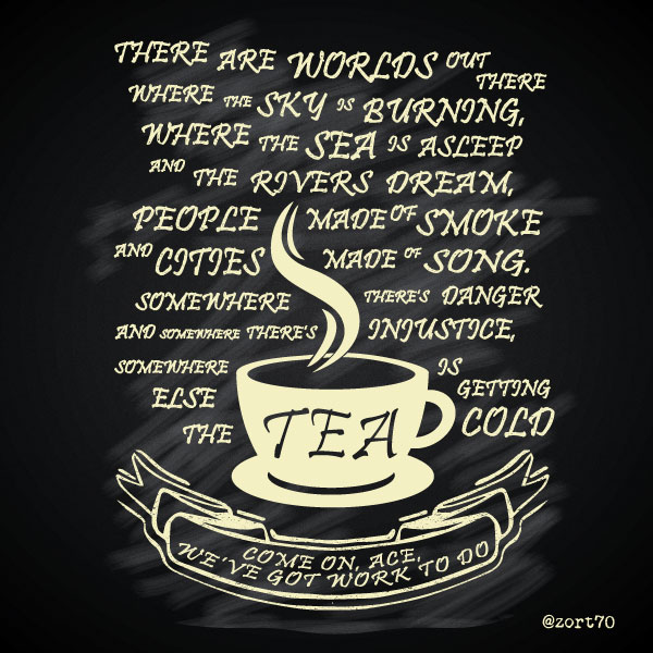 7th Doctor Tea Quote