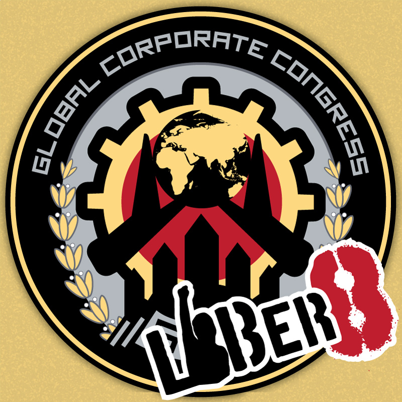 An icon to show the Continuum Global Corporate Congress logo with some Liber8 grafitti