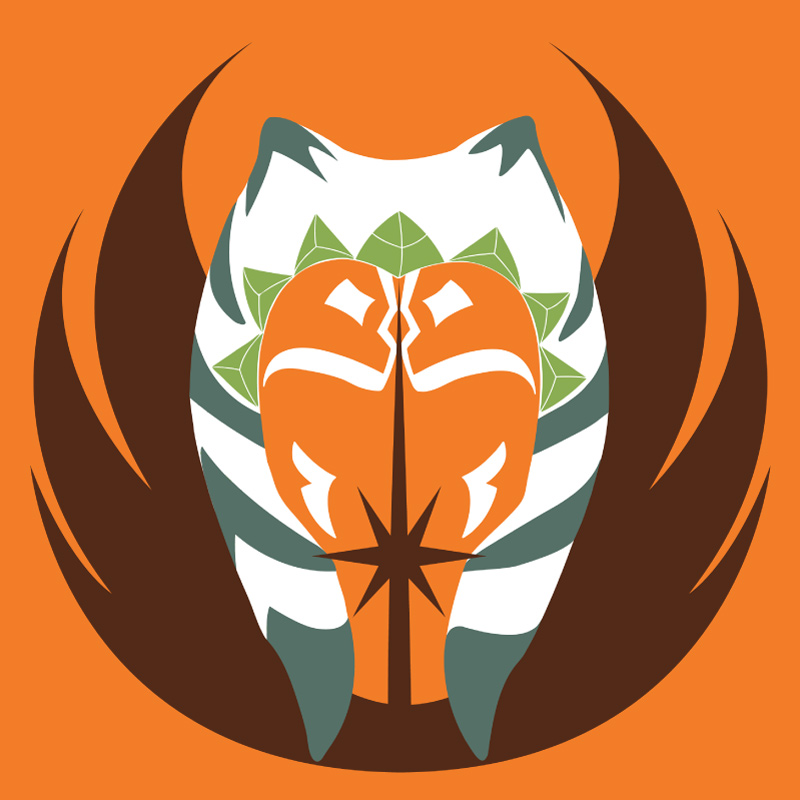 The Clone Wars era Snips / Ahsoka t-shirt design