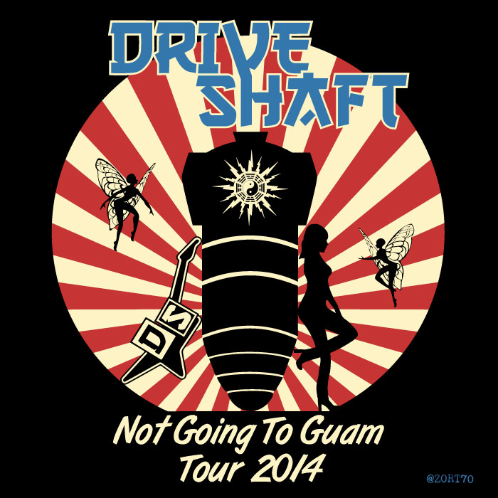 LOST Drive Shaft Tour T-Shirt